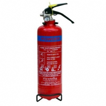 FEE030 FIRE EXTINGUISHER 8A 34B C 1KG D/P